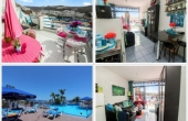 Gran Canaria sud, Puerto Rico, Appartamenti con 1 camera 1 bagno + terrazzo vista mare